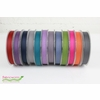 """Frou-Frou, 5/8"""" Two Sided Gros-Grain Ribbon, Lavender/Pink"""
