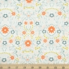 Gingiber for Moda, Dwell in Possibility, Full Bloom Ivory Metallic