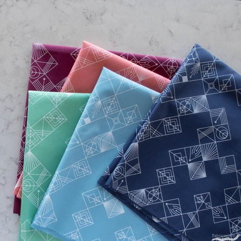 Giucy Giuce for Andover, Deco, Tiles Mulberry