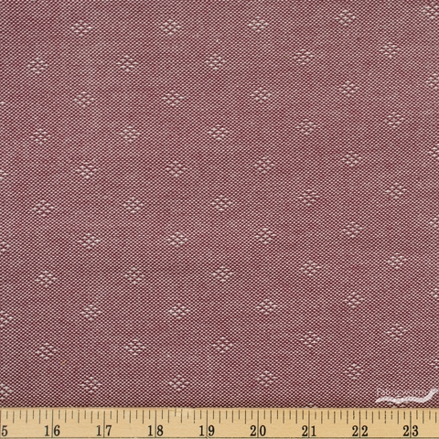 Giucy Giuce for Andover, Entwine Yarn Dyed Dobby, Intersect Burgundy