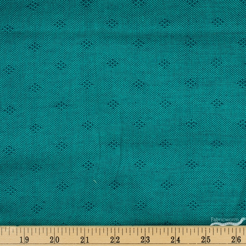 Giucy Giuce for Andover, Entwine Yarn Dyed Dobby, Intersect Teal