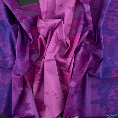 Giucy Giuce for Andover Fabrics, Inferno, Ombre Imperial