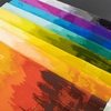 Giucy Giuce for Andover Fabrics, Inferno, Ombre Rainbow Bundle 8 Total