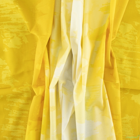 Giucy Giuce for Andover Fabrics, Inferno, Ombre Sunflower