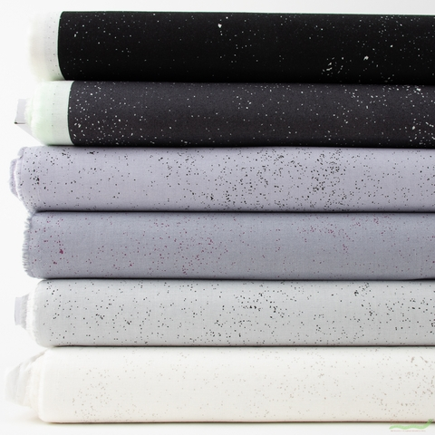 Giucy Giuce for Andover, Spectratastic, Lights Out in FAT QUARTERS 6 Total (PRECUT)
