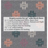 Give and Take Quilt Kit Featuring Birch Organic Fabrics Yarn Dyed Linen (PRECUT)