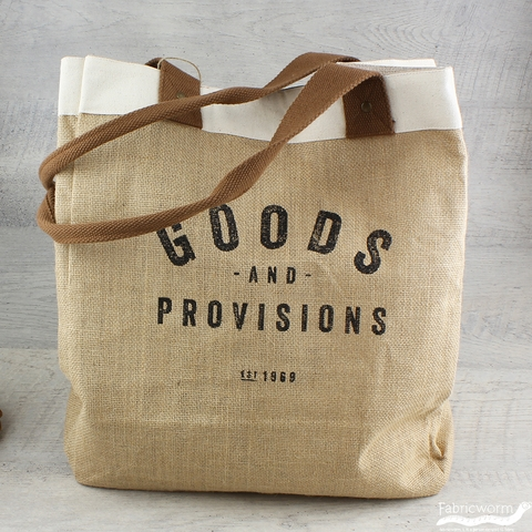 Goods and Provisions Market Tote Bag