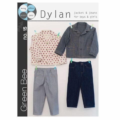 Green Bee, Sewing Pattern, Dylan Jacket & Jeans