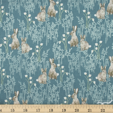Hackney and Co. for Windham, Midsummer, Cotton Tail Slate