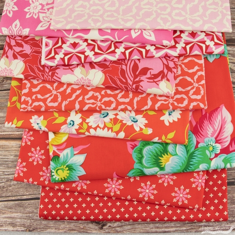 Heather Bailey for FIGO, True Kisses, Lovely Bundle 9 Total