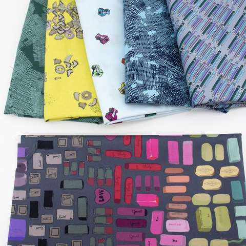 Heather Givans for Windham, Pencil Club, Creative in FAT QUARTERS 6 Total