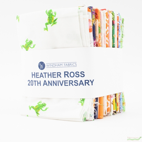 Heather Ross, 20th Anniversary Entire Collection Bundle 21 Total