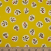 Heather Ross, 20th Anniversary Fabric Collection, Small Roses Yellow