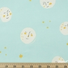 Heather Ross for Windham, Far Far Away 2, Moons Aqua Fat Quarter