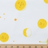 Heather Ross for Windham, Far Far Away 2, Moons Yellow Fat Quarter