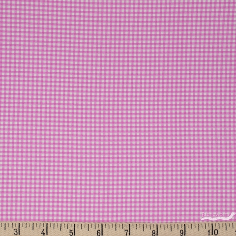 Heather Ross for Windham, Trixie, Gingham Light Purple