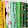 Heather Ross for Windham, Trixie, Grass in FAT QUARTERS 10 Total (PRECUT)