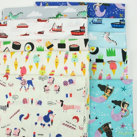 Hello! Lucky for Robert Kaufman, Hello Lucky in FAT QUARTERS 11 Total