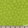 Hoffman Fabrics, Hand Dyed Batiks Winter 2018, Large Dots Key Lime