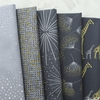 Hoffman Fabrics, Sparkle and Fade Metallic, Floating Charcoal
