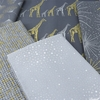 Hoffman Fabrics, Sparkle and Fade Metallic, Speckled Slate