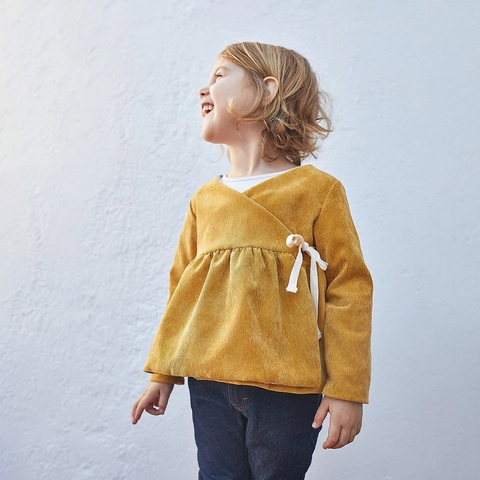 Ikatee, Sewing Patterns, Dublin Cardigan or Dress (1 month-4 years)