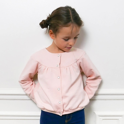Ikatee, Sewing Patterns, Irma Cardigan (3-12 years)