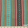 Imported Woven Yarn-Dyes, Cheyenne WIDE WIDTH Dobby, Xs and Os Aqua Orange