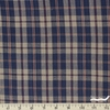 Imported Woven Yarn-Dyes, Country Cupboard, Plaid Navy
