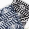 Imported Woven Yarn-Dyes, Global Textures WIDE WIDTH, Black Grey