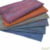 Imported Woven Yarn-Dyes, Ombre Ridge, Vertical Stripe Navy Red