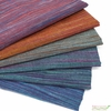 Imported Woven Yarn-Dyes, Ombre Ridge, Vertical Stripe Wine Gold