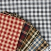 Imported Woven Yarn-Dyes, Rustic Woven, Check in FAT QUARTERS 5 Total (PRECUT)