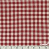 Imported Woven Yarn-Dyes, Rustic Woven, Check Red