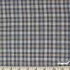 Imported Woven Yarn-Dyes, Rustic Woven, Plaid Blue Khaki