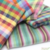 Imported Woven Yarn-Dyes, Santa Fe in FAT QUARTERS 5 Total (PRECUT)