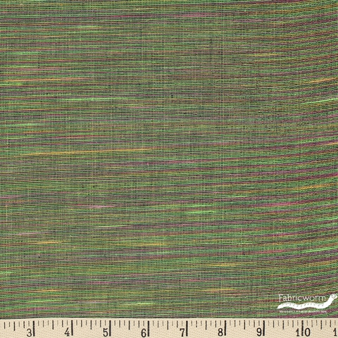 Imported Woven Yarn-Dyes, Sedona Sunset Metallic, Green Pink