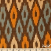Imported Woven Yarn-Dyes, Seminole, Diamond Ikat Gold