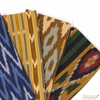 Imported Woven Yarn-Dyes, Seminole, Ethnic Stripe Green
