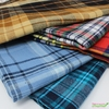 Imported Woven Yarn-Dyes, Windstar FLANNEL, Plaid Light Blue Navy