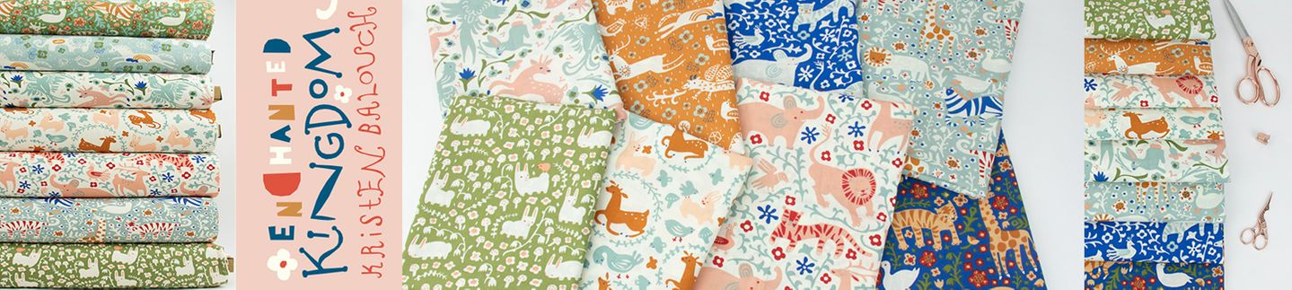 Fabricworm, a cottoneer in modern fabric and custom fabric bundles!