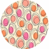 Ink & Arrow, Thalia, Circle Geometric Cream Coral