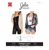 Jalie Sewing Patterns, No 3353, Women's and Girl's Cocoon Cardigan