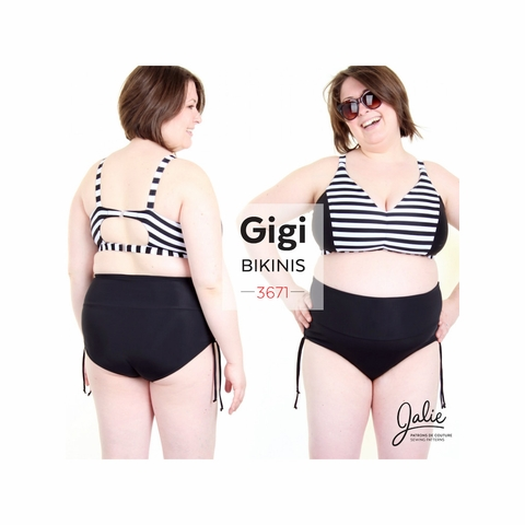 Jalie Sewing Patterns, No 3671, Gigi Bikini for Women and Girls