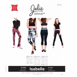 6b4f4561910a Jalie Sewing Patterns, No 3674, Jalie Sewing Patterns, No 3674, Women's and  Girl's Isabelle Leggings