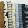 Janet Clare for Moda, Weather Permitting FAT QUARTERS 8 Total