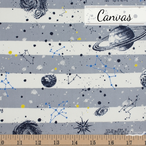Japanese Import, Canvas, Cosmic Stripe Moon