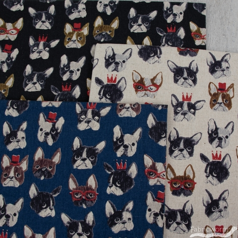 Japanese Import, CANVAS, Drama Dogs Blue