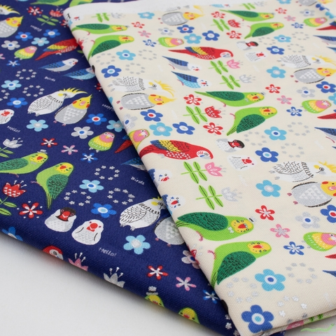 Japanese Import, Canvas, Hello Happy Birds Cream