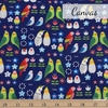 Japanese Import, Canvas, Hello Happy Birds Navy